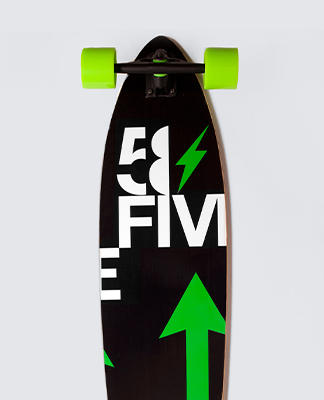 Stalk It 58Five Longboard