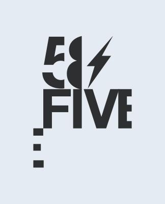 58FIVE logo series